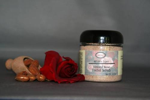 Almond Rose Facial Scrub