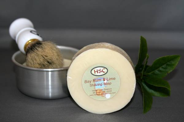 Bay Rum & Lime Shaving Soap