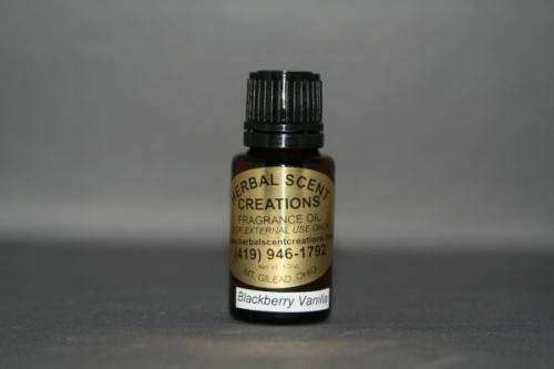 Blackberry Vanilla Oil