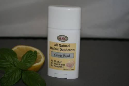 Citrus Basil Herbal Deodorant