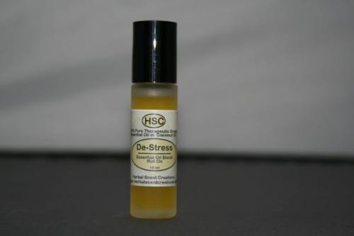 De-Stress Essential Oil Blend Roll-On