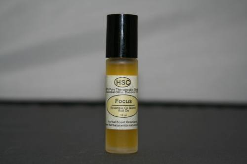 Focus Essential Oil Blend Roll-On