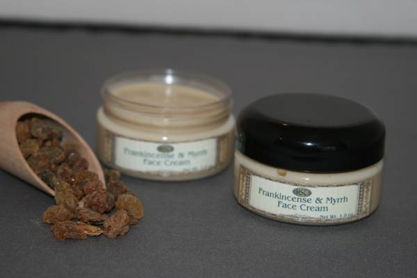 Frankincense and Myrrh Face Cream