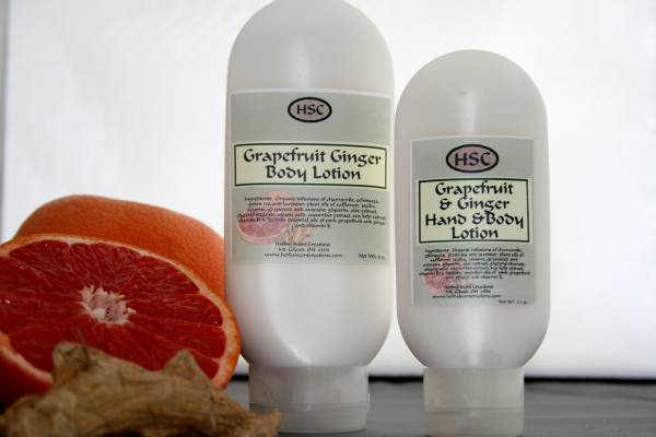 Grapefruit Ginger Body Lotion