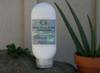 Green Clover & Aloe Body Lotion