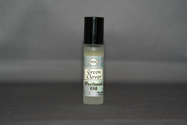Green Clover Perfume Oil