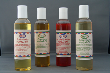 Herbal Oils - Infused