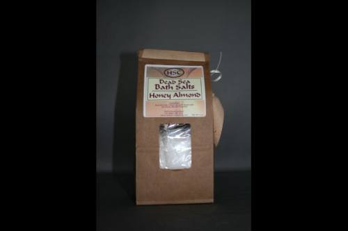 Honey Almond Dead Sea Bath Salts