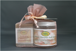 Honey Almond Scrub Gift Pack