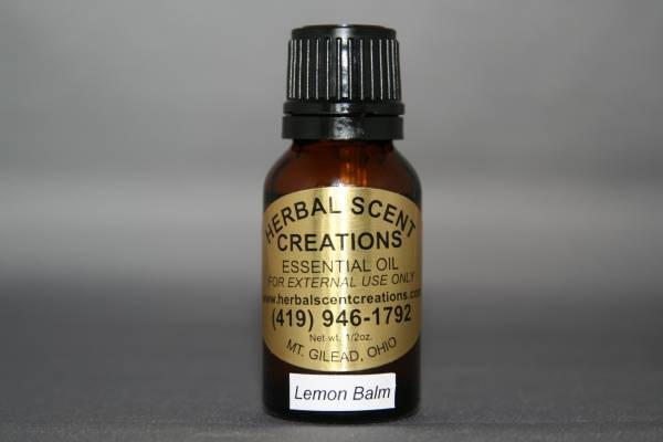 Lemon Balm (Melissa) Essential Oil