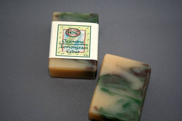 Lemongrass Cedar Soap
