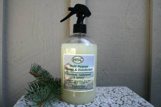 Mandarin, Cedarwood & Spruce Cleaner & Disinfectant