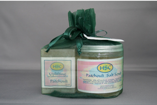 Patchouli Scrub Gift Pack