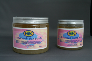 Patchouli Salt Scrub