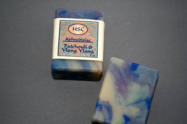 Patchouli and Ylang Ylang Soap