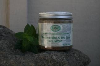 Peppermint & Tea Tree Foot Scrub