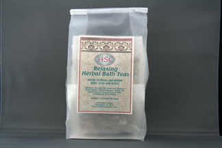 Relaxing Bath Teas