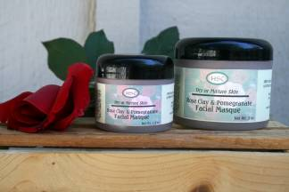 Rose Clay & Pomegranate Facial Masque