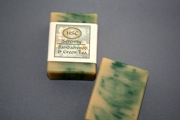 Sandalwood & Green Tea Soap
