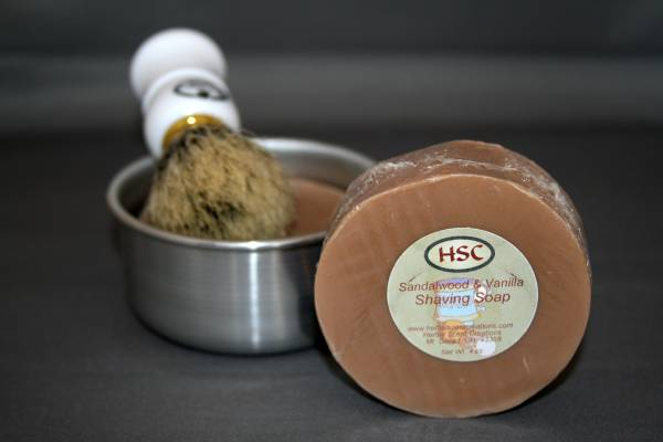 Sandalwood & Vanilla Shaving Soap