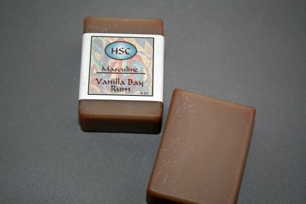 Vanilla Bay Rum Soap